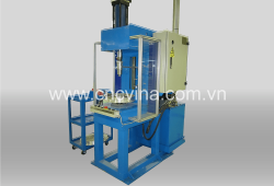 may ep bi vao vanh xe - rim ball press machine