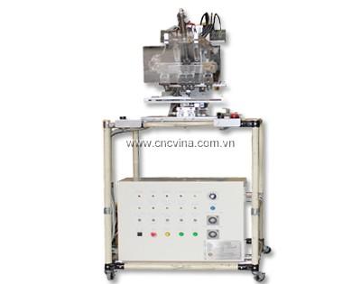 máy cấp keo và sấy tia UV-Auto glue adhesive and UV curing machine