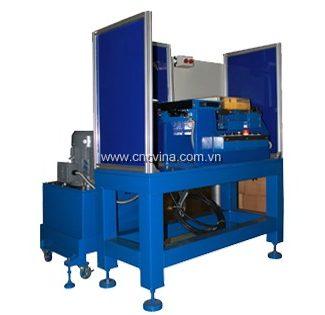 May ep co tru tay lai-wheel cylinder automatic press machine