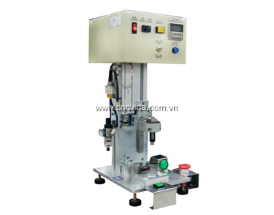 May ep mang loa-Loud speaker membrane automatic press machine