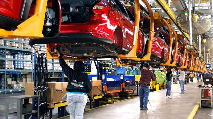 day chuyen lap rap oto-assembly-line-factory-Ford